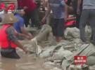 盱眙:党员群众齐心协力 排涝抢险救灾