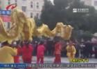 舞龙进社区  民俗闹新春
