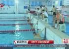 老年游泳爱好者  游泳池里竞高低