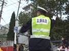 这个59岁的辅警在吉林11选五北门桥路口站了16年,每天只做一件事……