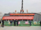"""新""""大运河桥""""首节钢塔完成吊装,主体工程预计明年底完成"""