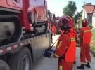 紧急救援!淮安消防队员在寿光的救援工作全面展开!
