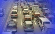 """""""讲文明 树新风""""公益广告——自觉遵守交通法规"""