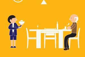 文明餐桌公益广告——餐饮之礼