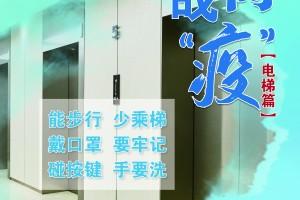 """公益广告——【共同战""""疫""""】电梯篇"""