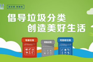 讲文明树新风 公益广告《倡导垃圾分类》