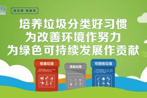 讲文明树新风 公益广告《培养垃圾分类好习惯》