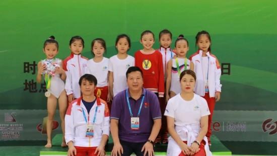 淮安健兒再奪兩金!8歲小將王清如斬獲淮安體操項目首金!