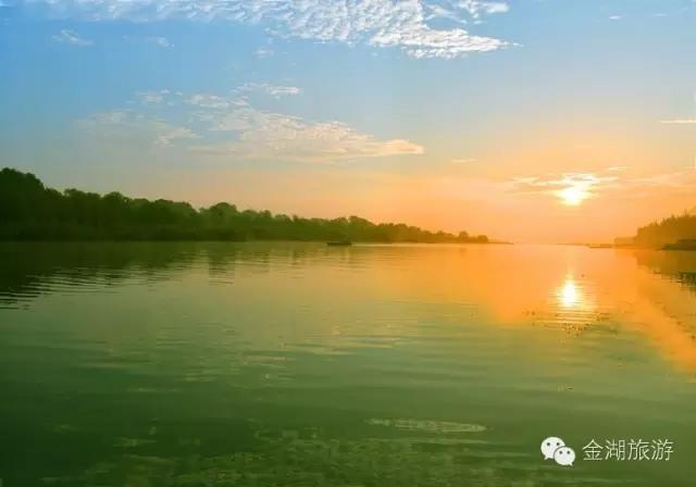 淮安新闻 今日聚焦  水是金湖的血液,是金湖的脉络,高邮湖,宝应湖